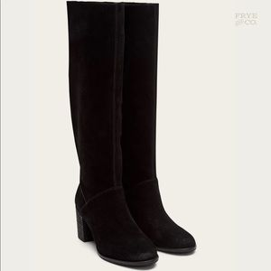 Frye and Co. Women Phoebe Slouch Tall Black | 9